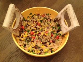 quinoa black beans